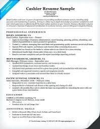 Part Time Jobs In Leesburg Va Cashier Resume Sample Companion With For And