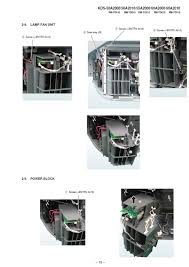 Kdf E42a10 Lamp Replacement Instructions by The Sony Motor Dc Fan Sff21c C Np In My Sony Sxrd Projection Tv