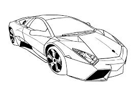 Free Download Lamborghini Coloring Pages