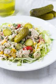 Dill Pickle On The Christmas Tree by Dill Pickle Chopped Chicken Salad Queen Of My Kitchen