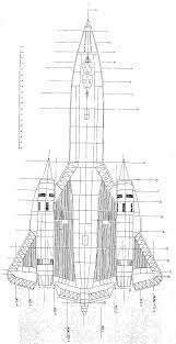 Schematic Of The SR 71