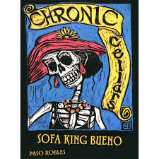 chronic cellars sofa king bueno red blend 2014 wine com