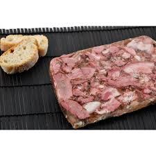 pate de tete de porc maison fromage de tête maison robert bach