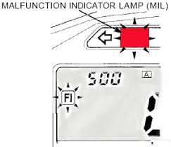 Malfunction Indicator Lamp Honda by E X C E S S I V E L O C I T Y Faulty Egcv And Air Intake Valve