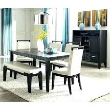 Benches For Dining Table Room With Bench Modern Simple Sets Set Round Cheap Se