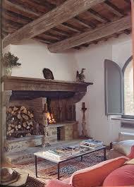 Rustic Tuscan Living Room