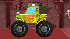 Scary Monster Truck | Funny Scary Cars Videos For Kids - YouTube ...