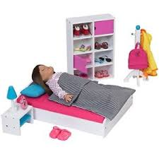 Doll Furniture for American Girl Dolls Bedroom Modern Furniture