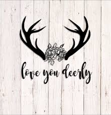 I Love You Deerly Decal I Love You Deerly Sign Deer Decal   Etsy Buck Deer Hunting Decal Car Decals And Stickers Vinyl Large X13 Bone Collector Design 420 Bowhunting Gun Hearts Love Window Sticker Trade Me Free Silhouette Download Clip Art On Best Ever Bowhuntingcom Colored Duck Save Browning Head Png Images Of Spacehero Lovely Gun Bow Truck Style Doe Decalsticker Choose Color Buy 2 Tancredy Newest Christmas Deer Stickers Decor Wall Window Car Body