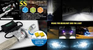 led bulb 5s kit light fog 30w 8000 lumen 6000k upgrade