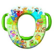 Elmo Potty Seat Cover by Sesame Street Safari Potty Seat Potty Training Concepts