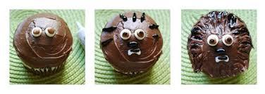 wars kuchen so machst du coole wookiee cupcakes selbst