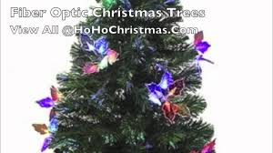 Fiber Optic Christmas Trees Canada by Green Christmas Tree With Silver Decorations For Tinsel Ribbon And