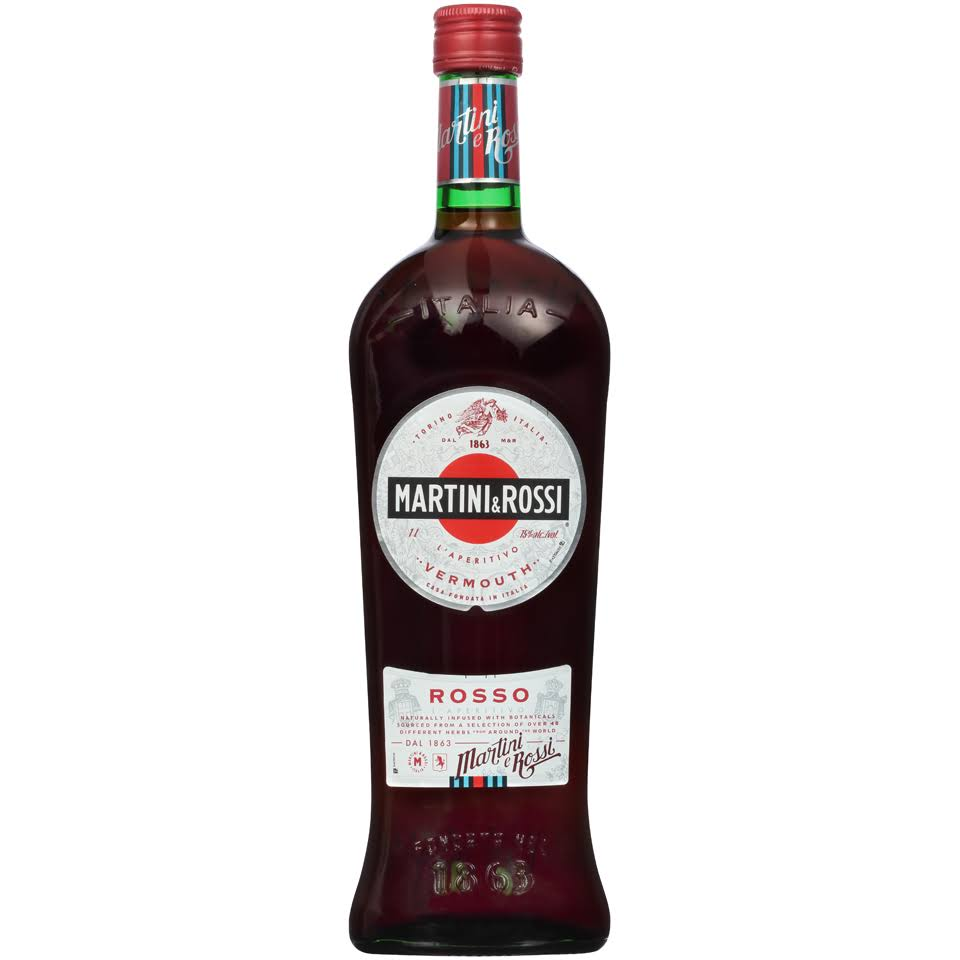 Martini & Rossi Sweet Vermouth - 1l