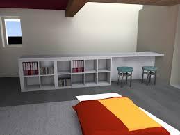 bureau plan de travail ikea meuble garde corps architecte d intérieur ardèche