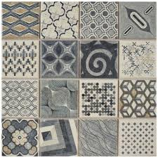 Home Depot Floor Tiles Porcelain by Merola Tile Century Millennial 9 3 4 In X 9 3 4 In Porcelain