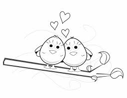 Valentines Love Birds