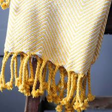 jeté de canapé jaune jeté de canapé en coton jaune produit artisanal par pankaj e boutique