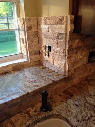 Beveled Tile Inside Corners by Help Stacked Stone Corners