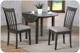 Delfini 42 Set Drop Leaves 3 Stains Table 340 Chairs 135