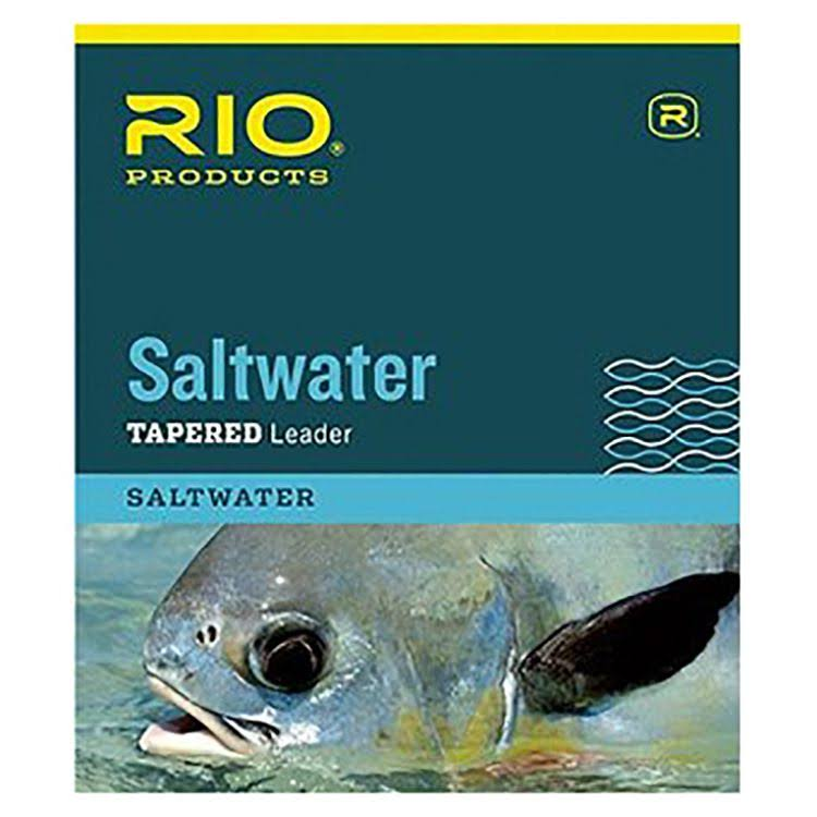 Rio Saltwater Tapered Leader - 10ft