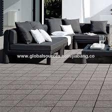 China Fushun Restaurant No Grout Lock In Deck Base Tile Outdoor Luxury Granite Floor