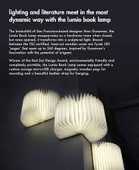 Lumio Book Lamp Walnut by Lumio By Max Gunawan The Conran Shop