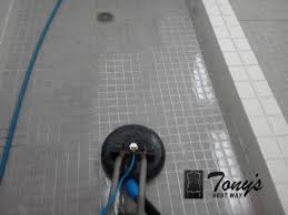 are your tile and grout floors locker room 7 photos