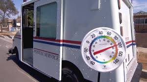 Here's How Hot It Is Inside A Mail Truck - YouTube