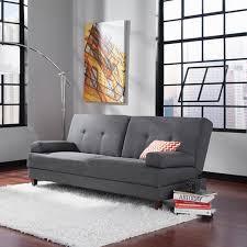 Walmart Sauder Sofa Table by Sauder Premier Carver Convertible Sofa Dark Gray Walmart Com