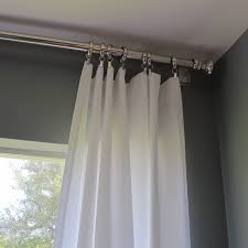 Telescopic Curtain Rod Ikea by Accessories Curtain Rods Silver Throughout Magnificent Sunday