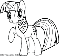 Alicorn Coloring Pages Beautiful My Little Pony Twilight Sparkle For Baby