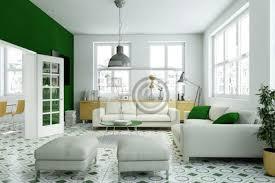fototapete wohnzimmer gelb grün