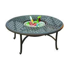 Coffee Tables Decor Round Patio Coffee Table Functional Cooler