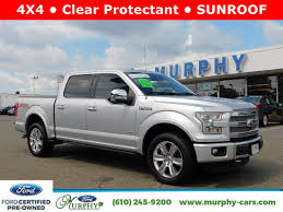 Certified Pre-Owned 2015 Ford F-150 Platinum Pickup Truck In ... Allnew Ford F150 Redefines Fullsize Trucks As The Toughest 2015 Used At Sullivan Motor Company Inc Serving Phoenix Preowned 4wd Supercrew 145 Xlt Baxter Lariat Crew Cab Pickup In Newtown Square Truck Magnetic Metallic For Sale Wenatchee 4854x Town Lebanon San Antonio 687 New Topoftheline Limited Is Most Advanced Luxurious F Extended Westbrook 157 North Coast Auto Mall