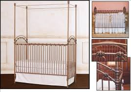Bratt Decor Crib Skirt by Decorating Elegant Iron Crib By Bratt Decor Venetian Crib In