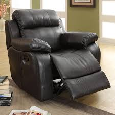 weston home darrin leather reclining loveseat with console black
