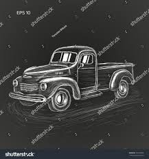 Old Vintage Tow Truck Vector Illustration. Retro Service Vehicle ...