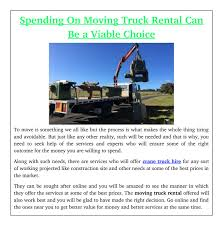 Spending On Moving Truck Rental Can Be A Viable Choice By Crane ... Ask The Expert How Can I Save Money On Truck Rental Moving Insider Things To Keep In Mind While Renting A Moving Truck Us Trailer Uhaul Ramp Use Uhaul And Rollup Rentals One Way Unlimited Mileage 2019 20 Top Car Choose Right Size Companies Comparison Penske Tips Avoiding Scary Move Bloggopenskecom Cargo Van Rent A List Of Englishfriendly Japan From Inexpensive Seattle Best Image Kusaboshicom