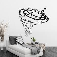 Wall Mural Decals Vinyl by Online Get Cheap Music Wall Murals Aliexpress Com Alibaba Group