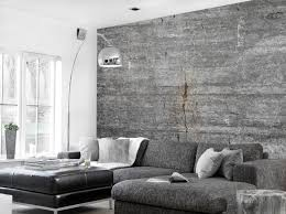 betontapete wohnzimmer industriedesign tapete 1800x1348