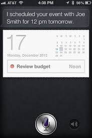 Use Siri to add appointments to your iPhone iPad calendar and