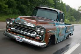 The License Plate On This Fantastic Chevy Apache Fleetside Truck ...