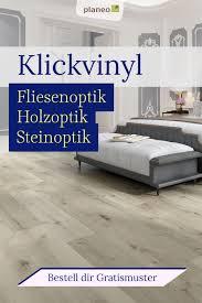 klickvinyl in fliesenoptik holzoptik steinoptik für