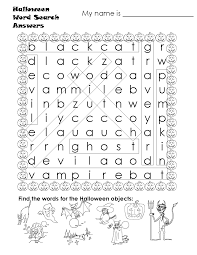 Haunted Halloween Crossword Puzzle Answers by Scrambled Words For Halloween 1st 2nd Grade Worksheet Lesson