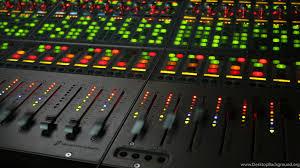 Recording Studio Mixer Wallpapers Widescreen Desktop Background