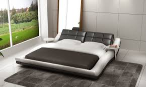 Modloft Jane Bed by 1280 Cerchio Modern Eco Leather Bed W Led Lights Ideas For The