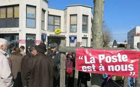 bureau de poste charenton val de marne manif pour défendre les bureaux de poste le parisien