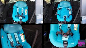 protege ceinture siege auto bébé j ai testé le siège auto pivotant axissfix de bébé confort