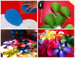 Art Craft Ideas And Bulletin Boards For Elementary Schools Simple 3D Flower Tutorial